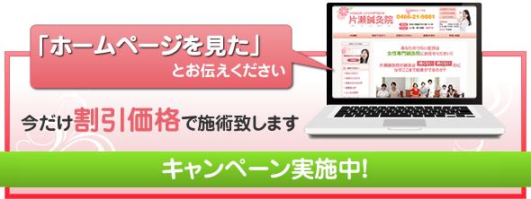 ホームページリニューアルキャンペーン実施中!